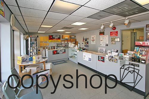 Interior of Copy Shop at 921 Route 9 South in South Amboy, NJ
