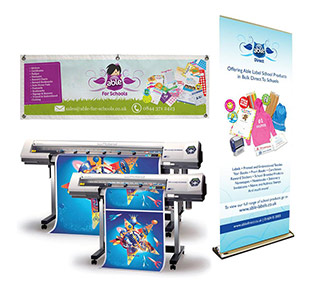 Large Fromat printing - posters, banners and printed vinyl. All done on premises in South Amboy, NJ